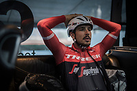 Team Trek-Segafredo pre-race coffee ride (relaxed training day before the race)<br /> 108th Milano - Sanremo 2017