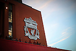 A general view of the new stand at Anfield during the Premier League match at Anfield Stadium, Liverpool. Picture date December 27th, 2016 Pic David Klein/Sportimage