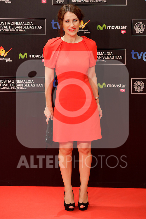 posses in the photocall before the closing ceremony during the 61st San Sebastian Film Festival in the Northern Spanish Basque city of San Sebastian on September 27, 2013. (ALTERPHOTOS/Victor Blanco)