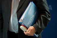Zurigo 14-10-2016  Football FIFA - Council meeting; FIFA   member Michel D'Hooghe (BEL) carries the file of the Council meeting at the FIFA headquarters  in Zurich<br />  Foto Steffen Schmidt/freshfocus/Insidefoto ITALY ONLY