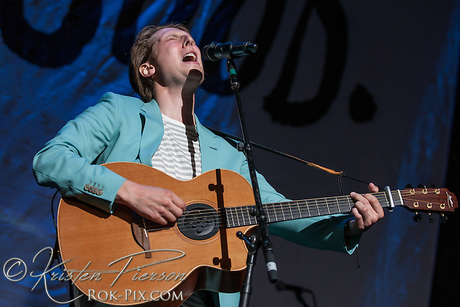 Eric Hutchinson performs at Xfinity Center July 12 2015