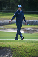 Lanto Griffin (USA) reacts to his putt on 14 during Round 1 of the Valero Texas Open, AT&amp;T Oaks Course, TPC San Antonio, San Antonio, Texas, USA. 4/19/2018.<br /> Picture: Golffile | Ken Murray<br /> <br /> <br /> All photo usage must carry mandatory copyright credit (&copy; Golffile | Ken Murray)