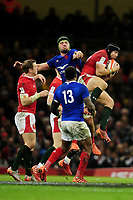 Leigh Halfpenny of Wales in action during the Guinness Six Nations Championship Round 3 match between Wales and France at the Principality Stadium in Cardiff, Wales, UK. Saturday 22 February 2020