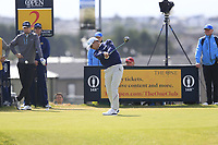 Doyeob Mun (KOR) tees off the 2nd tee during Thursday's Round 1 of the 148th Open Championship, Royal Portrush Golf Club, Portrush, County Antrim, Northern Ireland. 18/07/2019.<br /> Picture Eoin Clarke / Golffile.ie<br /> <br /> All photo usage must carry mandatory copyright credit (© Golffile | Eoin Clarke)