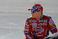 Apr 17, 2009; Avondale, AZ, USA; NASCAR Sprint Cup Series driver Mark Martin during qualifying for the Subway Fresh Fit 500 at Phoenix International Raceway. Mandatory Credit: Mark J. Rebilas-