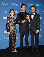 LOS ANGELES, CA. February 02, 2019: Keri Russell, Bill Hader & Matthew Rhys at the 71st Annual Directors Guild of America Awards at the Ray Dolby Ballroom.<br /> Picture: Paul Smith/Featureflash