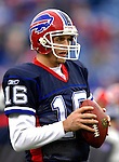 24 December 2006: Buffalo Bills quarterback Craig Nall warms up prior to a game against the Tennessee Titans at Ralph Wilson Stadium in Orchard Park, New York. The Titans edged out the Bills 30-29.&amp;#xA; &amp;#xA;Mandatory Photo Credit: Ed Wolfstein Photo<br />