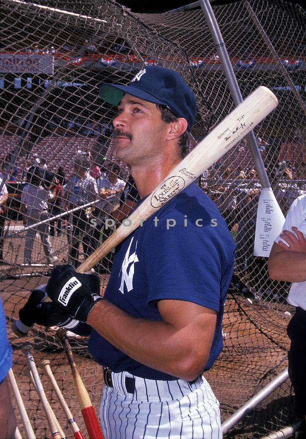 New York Yankees Don Mattingly (23) during a game from the 1989 season. Don Mattingly played for 14 years all with the Yankees, was a 6-time All-Star and won the American League MVP in 1985.(David Durochik/SportPics)(David Durochik/SportPics)