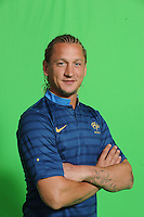 Philippe Mexes .29/5/2012 .Calcio Foto Ufficiali Francia Euro2012.Foto Insidefoto / Anthony Bibard / FEP/ Panoramic ITALY ONLY