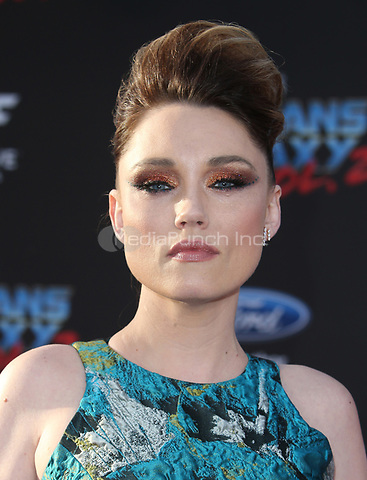"HOLLYWOOD, CA - April 19: Clare Grant, At Premiere Of Disney And Marvel's ""Guardians Of The Galaxy Vol. 2"" At The Dolby Theatre  In California on April 19, 2017. Credit: FS/MediaPunch"