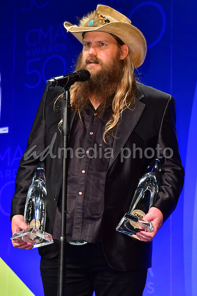 02 November 2016 - Nashville, Tennessee - Chris Stapleton. 50th Annual CMA Awards, CMA Awards 2016, Country Music's Biggest Night, held at Bridgestone Arena. Photo Credit: Mickey Bernal/AdMedia