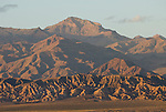 The rugged Grapevine Mountains loom over Death Valley National Park.
