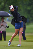 Sandra Gal (DEU) watches her tee shot on 12 during round 4 of the KPMG Women's PGA Championship, Hazeltine National, Chaska, Minnesota, USA. 6/23/2019.<br /> Picture: Golffile | Ken Murray<br /> <br /> <br /> All photo usage must carry mandatory copyright credit (© Golffile | Ken Murray)