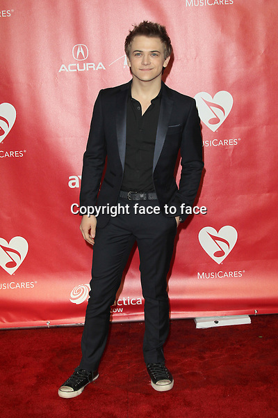 Hunter Hayes at the 2013 MusiCares Person Of The Year Gala Honoring Bruce Springsteen at Los Angeles Convention Center on February 8, 2013 in Los Angeles, California...Credit: MediaPunch/face to face..- Germany, Austria, Switzerland, Eastern Europe, Australia, UK, USA, Taiwan, Singapore, China, Malaysia and Thailand rights only -