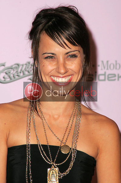 Constance Zimmer<br />at the launch party for the Custom-Designed T-Mobile Sidekick II Series. T-Mobile Sidekick II City, Hollywood, CA. 10-18-05<br />Dave Edwards/DailyCeleb.com 818-249-4998