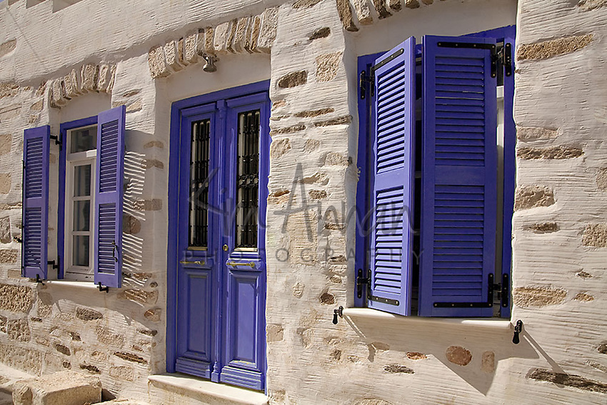 Parikia Shutters Greece