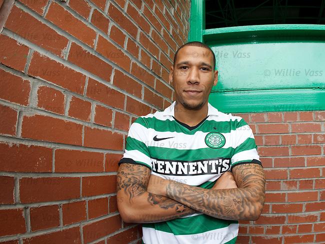 Kelvin WIlson signs for Celtic from Nottingham Forest