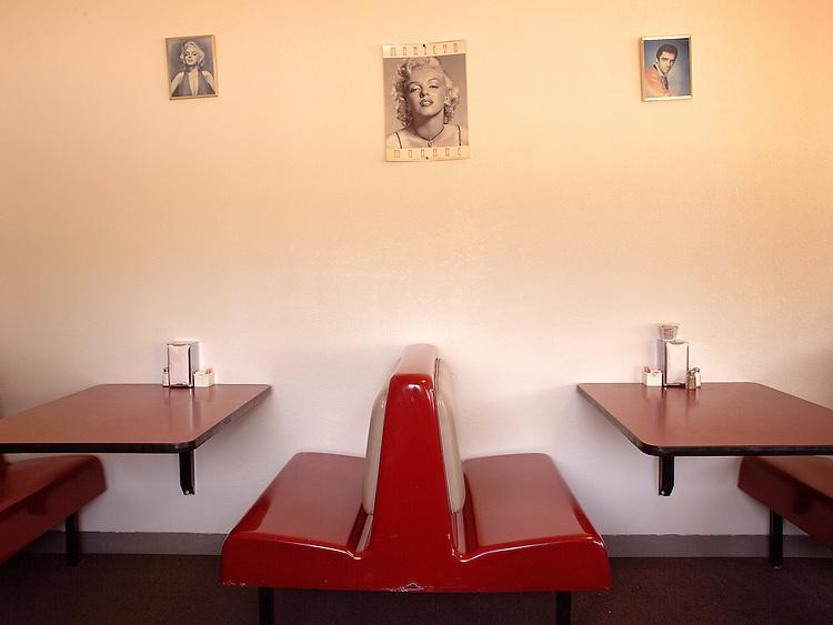 Americana.<br /> <br /> Dell's Diner, Fort Garland, Colorado.