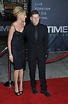 Director Andrew Niccol and wife Rachel Roberts at the premiere of In Time held at The Regency Village Theater in Westwood, Ca. October 20, 2011