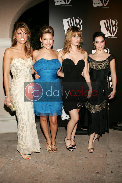 Jennifer Esposito and Lizzy Caplan with Kiele Sanchez and Laura Breckenridge<br />