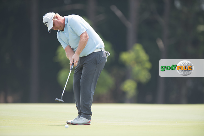 Ross McGowan (ENG) during the final round of the Australian PGA Championship, Royal Pines Resort Golf Course, Benowa, Queensland, Australia. 02/12/2018<br /> Picture: Golffile | Anthony Powter<br /> <br /> <br /> All photo usage must carry mandatory copyright credit (© Golffile | Anthony Powter)