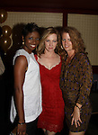 "Montego Glover with Alecia Hurst and Amy Hargreaves (red) Homeland at The Canal Room as it celebrates its 10th Anniversary on September 16, 2013 at ""Back to the 80s Show with Jessie's Girl"" in New York City, New York. (Photo by Sue Coflin/Max Photos)"