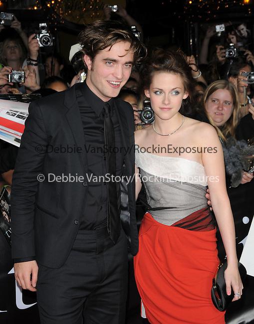 "Robert Pattinson & Kristen Stewart at Summit Entertainment's highly anticipated Premiere of ""Twilight"" held at The Mann's Village Theatre in Westwood, California on November 17,2008                                                                     Copyright 2008 Debbie VanStory/RockinExposures"