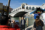 Venice-Italy - March 28, 2010 -- Rialto Bridge over Grand Canal / Canal Grande (not: Canale Grande) - an attraction for all tourists -- tourism, architecture, photography, people -- Photo: © HorstWagner.eu