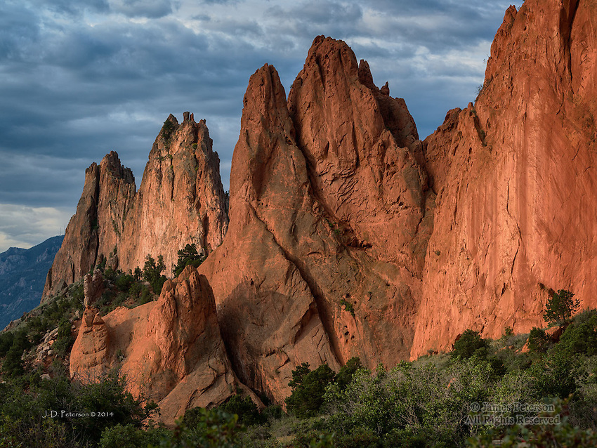 Morning Light, Garden of The Gods