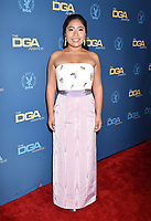 HOLLYWOOD, CA - FEBRUARY 02: Yalitza Aparicio  attends the 71st Annual Directors Guild Of America Awards at The Ray Dolby Ballroom at Hollywood &amp; Highland Center on February 02, 2019 in Hollywood, California.<br /> CAP/ROT/TM<br /> &copy;TM/ROT/Capital Pictures