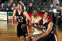 SAN ANTONIO, TX - JANUARY 6, 2007: The University of Texas of the Permian Basin Falcons vs. the St. Mary's University Rattlers Men's Basketball at Bill Greehey Arena. (Photo by Jeff Huehn)