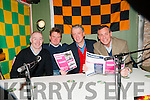 Cheltenham Preview: Answereing the questions at the Cheltenham preview night at Christy's Bar, Listowel on Sunday night last were jockey David Casey, bookie Berkie Brown, MC Billy Keane & racing photographer Pat Healy.