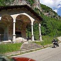 Cappella Madonna di Loreto, monumento nazionale in località Roccapetra frazione  di Varallo