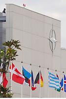 CERIMONIA DI APERTURA DEL NUOVO COMANDO  JFC NATO DI LAGO PATRIA .NELLA FOTO .FOTO CIRO DE LUCA....OPENING CEREMONY OF THE NEW JFC NAPLES HQ