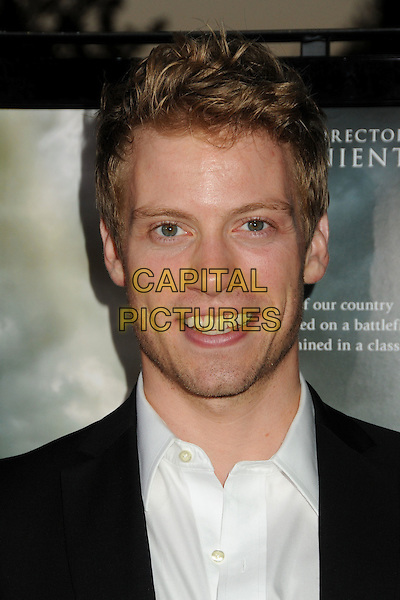 "BARRETT FOA. ""Waiting For Superman"" Los Angeles Premiere held at Paramount Studios, Los Angeles, California, USA..September 20th, 2010.headshot portrait white black stubble facial hair .CAP/ADM/BP.©Byron Purvis/AdMedia/Capital Pictures."
