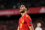 Spain's Marcos Asensio during UEFA Nations League 2019 match between Spain and England at Benito Villamarin stadium in Sevilla, Spain. October 15, 2018. (ALTERPHOTOS/A. Perez Meca)