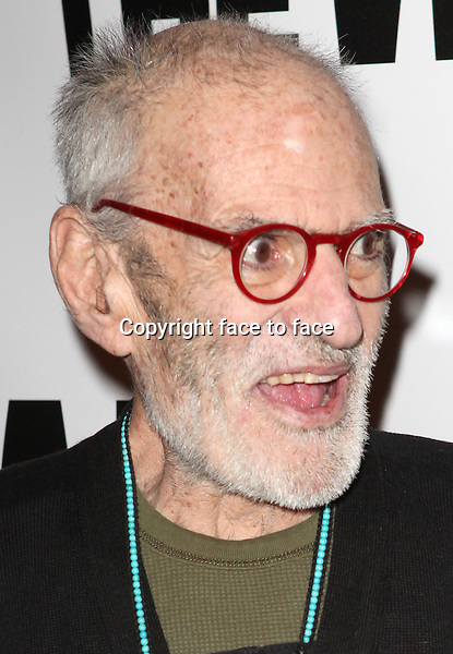 "Larry Kramer attending the New York Premiere of the Opening Night Performance of ""Hit The Wall"" at the Barrow Street Theatre in New York City on 3/10/2013...Credit: McBride/face to face"