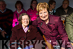 Annie Leane, Causeway and Patricia Flahive, Ballyheigue at the Ballyheigue Pattern day mass on Friday.