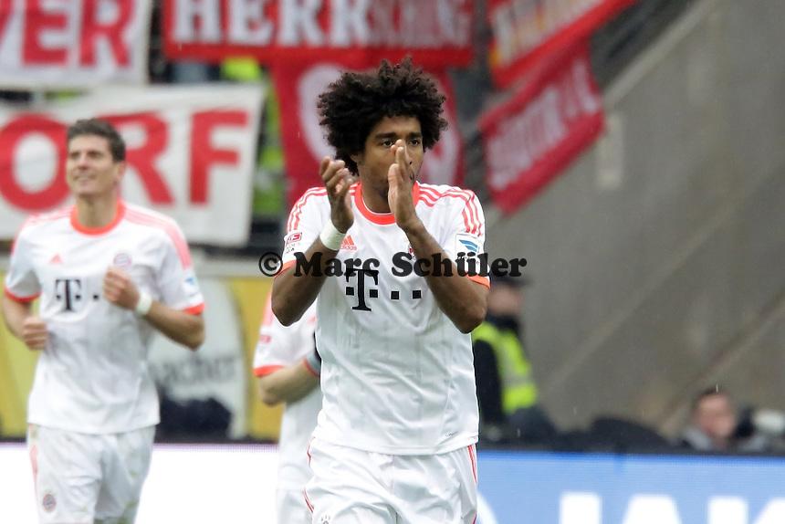 Dante (Bayern) jubelt