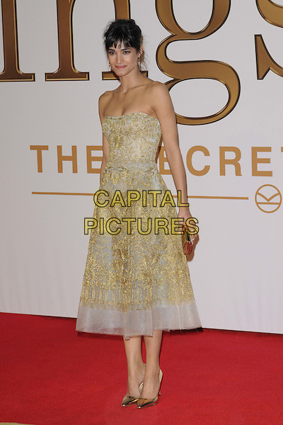 LONDON, ENGLAND - JANUARY 14: Sofia Boutella attends the &quot;Kingsman: The Secret Service&quot; world film premiere, Odeon Leicester Square cinema, Leicester Square, on Wednesday January 14, 2015 in London, England, UK. <br /> CAP/CAN<br /> &copy;Can Nguyen/Capital Pictures