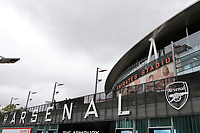 A general view of the stadium during the Premier League match between Arsenal and Aston Villa at the Emirates Stadium, London, England on 22 September 2019. Photo by Carlton Myrie / PRiME Media Images.