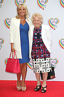 Carol Wright and Nanny Pat arriving for the Health Lottery Tea Party, The Savoy, London. 02/06/2014 Picture by: Alexandra Glen / Featureflash