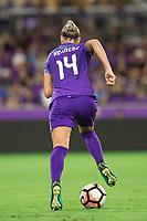 Orlando, FL - Saturday September 02, 2017: Alanna Kennedy during a regular season National Women's Soccer League (NWSL) match between the Orlando Pride and the Boston Breakers at Orlando City Stadium.