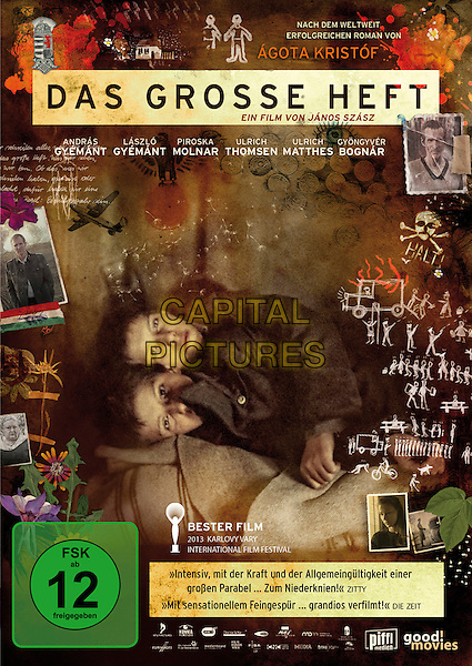GERMAN DVD COVER ART<br /> in The Notebook (2013) <br /> (A nagy fuzet)<br /> (Das Grosse Heft)<br /> *Filmstill - Editorial Use Only*<br /> CAP/FB<br /> Image supplied by Capital Pictures