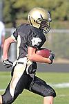 Palos Verdes, CA 09/24/10 - Josh Mcguiness (Peninsula #3)  in action during the Serra-Peninsula varsity football game at Peninsula High School.