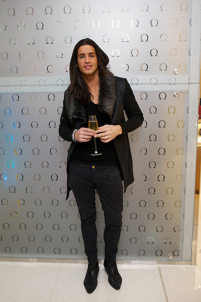 Ollie Lock from Made in Chelsea at The Omega Boutique Launch party, Westfield Stratford, London