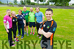 Tom Foley to run 24 hour race. Taking place 17th &18th of July in Belfast pictured here with  training group Back l-r Sandra Byrne, Ann O'Shea, Ashley O'Shea, Danny O'Shea, Martin O'Sullivan and Brian O'Shea