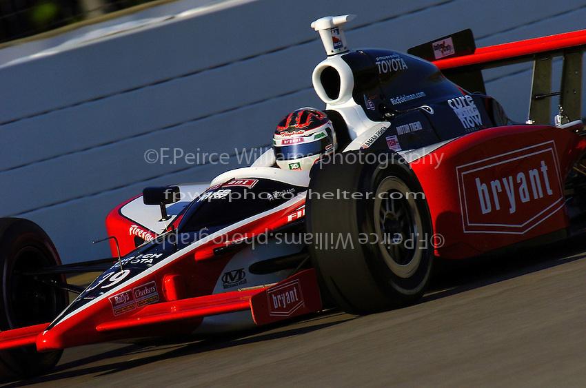 9-27 May,2004 Indianapolis Motor Speedway, Indiana, USA.Sarah Fisher..............