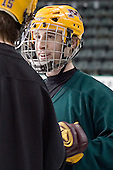 Mike Howe - The University of Minnesota Golden Gophers took part in their morning skate at Ralph Engelstad Arena in Grand Forks, North Dakota, on Saturday, December 10, 2005.