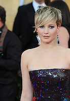 Jennifer Lawrence at the 20th Annual Screen Actors Guild Awards at the Shrine Auditorium.<br /> January 18, 2014  Los Angeles, CA<br /> Picture: Paul Smith / Featureflash
